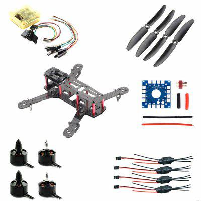 ZMR 250 Carbon Fiber Quadcopter DIY Frame Kit with CC3D Flight Controller Brushless Motor ESC Set