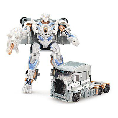 2 in 1 Transformable Transform ABS 3D Robot Vehicle
