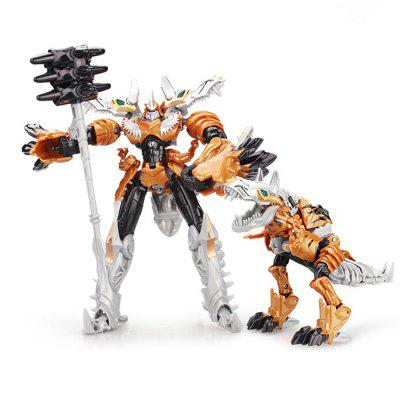 2 in 1 Transform 3D ABS Robot Animal Toy