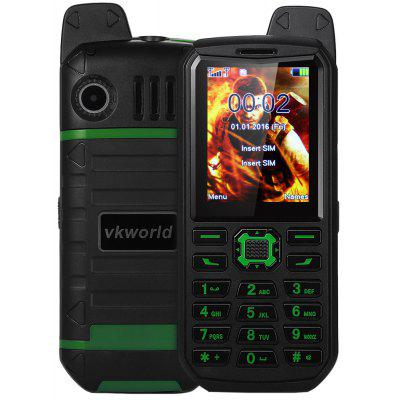 Buy GREEN Vkworld Stone V3 Plus Quad Band Unlocked Phone for $26.04 in GearBest store