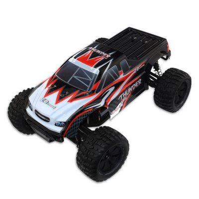 ZD Racing 10427 - S 1:10 Big Foot RC Truck - RTRRC Cars<br>ZD Racing 10427 - S 1:10 Big Foot RC Truck - RTR<br><br>Brand: ZD Racing<br>Car Power: Built-in rechargeable battery<br>Channel: 2-Channels<br>Detailed Control Distance: About 200m<br>Drive Type: 4 WD<br>Features: Radio Control<br>Motor Type: Brushless Motor<br>Package Contents: 1 x RC Truck, 1 x Transmitter, 1 x Charger, 1 x Pack of Accessories, 1 x English Manual<br>Package size (L x W x H): 48.00 x 34.00 x 22.00 cm / 18.9 x 13.39 x 8.66 inches<br>Package weight: 3.4900 kg<br>Product size (L x W x H): 44.60 x 32.10 x 20.80 cm / 17.56 x 12.64 x 8.19 inches<br>Product weight: 2.3600 kg<br>Proportion: 1:10<br>Racing Time: About 30mins<br>Remote Control: 2.4GHz Wireless Remote Control<br>Transmitter Power: 4 x 1.5V AA (not included)<br>Type: Monster Truck