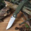Sanrenmu LAND 910 Plus Liner Lock Pocket Folding Camping Knife ARMY GREEN