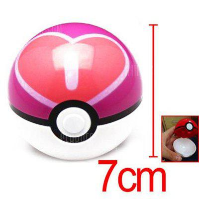 7cm Pokemon Ball Anime Action Figure Collection Toy Cosplay Prop