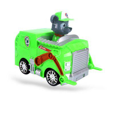 Animation Figure Electric Car Model with Music / Light