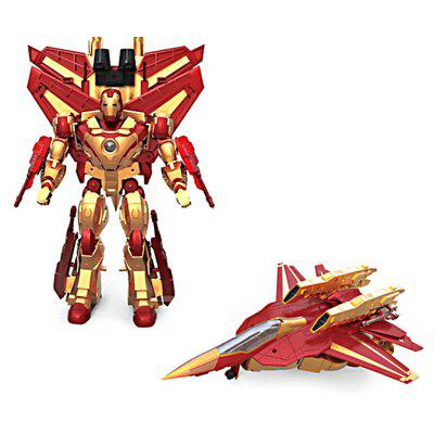 3D Robot Transform Fighter Puzzle ABS Toy