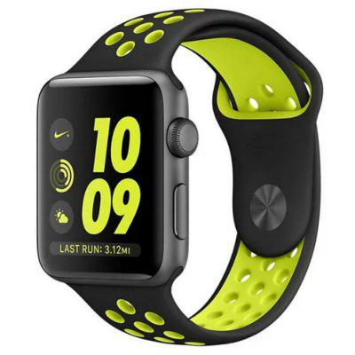 Resin Soft Watchband Replacement for Apple Watch 38mm