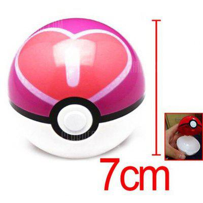 Buy COLORMIX 7cm Pokemon Ball Anime Action Figure Collection Toy Cosplay Prop for $4.73 in GearBest store