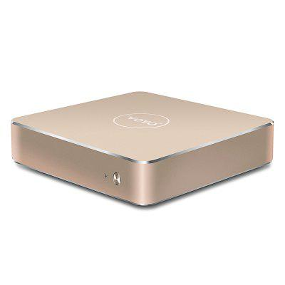 VOYO V1 VMac Mini PCMini PC<br>VOYO V1 VMac Mini PC<br><br>5G WiFi: No<br>Audio format: WMA, AC-3, APE, DTS, FLAC, MP3, OGG, WAV<br>Bluetooth: Unsupport<br>Brand: Voyo<br>Core: Quad Core<br>CPU: Apollo Lake N3450<br>Decoder Format: H.263, H.264<br>GPU: Intel HD Graphic<br>HDMI Version: 1.4<br>Interface: RJ45, 3.5mm Audio, DC Power Port, USB3.0, TF card, Mini HDMI Female<br>Language: Multi-language<br>Model: V1 VMac<br>Other Functions: 3D Video, ISO Files, PAL, 3D Games<br>Package Contents: 1 x VOYO V1 VMac Mini PC, 1 x HDMI Cable, 1 x Power Adapter, 1 x English Manual<br>Package size (L x W x H): 30.00 x 25.00 x 3.70 cm / 11.81 x 9.84 x 1.46 inches<br>Package weight: 0.7200 kg<br>Photo Format: BMP, GIF, JPG, PNG<br>Power Consumption.: 12W<br>Power Supply: Charge Adapter<br>Power Type: External Power Adapter Mode<br>Processor: Apollo Lake N3450<br>Product size (L x W x H): 12.00 x 12.00 x 2.80 cm / 4.72 x 4.72 x 1.1 inches<br>Product weight: 0.4000 kg<br>RAM: 4G RAM<br>RAM Type: DDR3L<br>Remote Controller Battery: 2 x AAA Battery ( not included )<br>RJ45 Port Speed: 1000M<br>ROM: 64G ROM<br>Support 5.1 Surround Sound Output: Yes<br>System: Windows 10<br>System Bit: 64Bit<br>Type: Mini PC<br>Video format: WMV, VC-1, RMVB, MVC, MPEG2, MPEG-1, MPEG, H.264, H.263<br>WiFi Chip: Out-cell