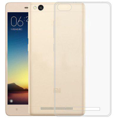 Luanke Transparent TPU Soft Phone Case for Xiaomi Redmi 4A