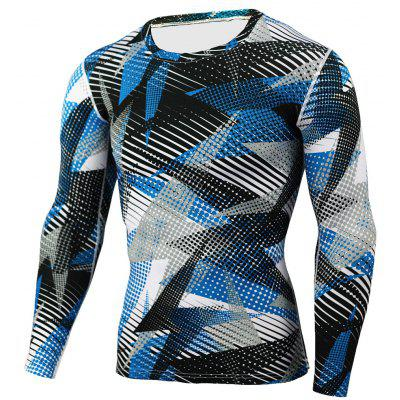 Tight Fit Long Sleeves T-shirt