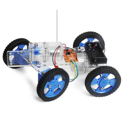 PXWG Vehicle Style DIY Electric Powered 3D Puzzle