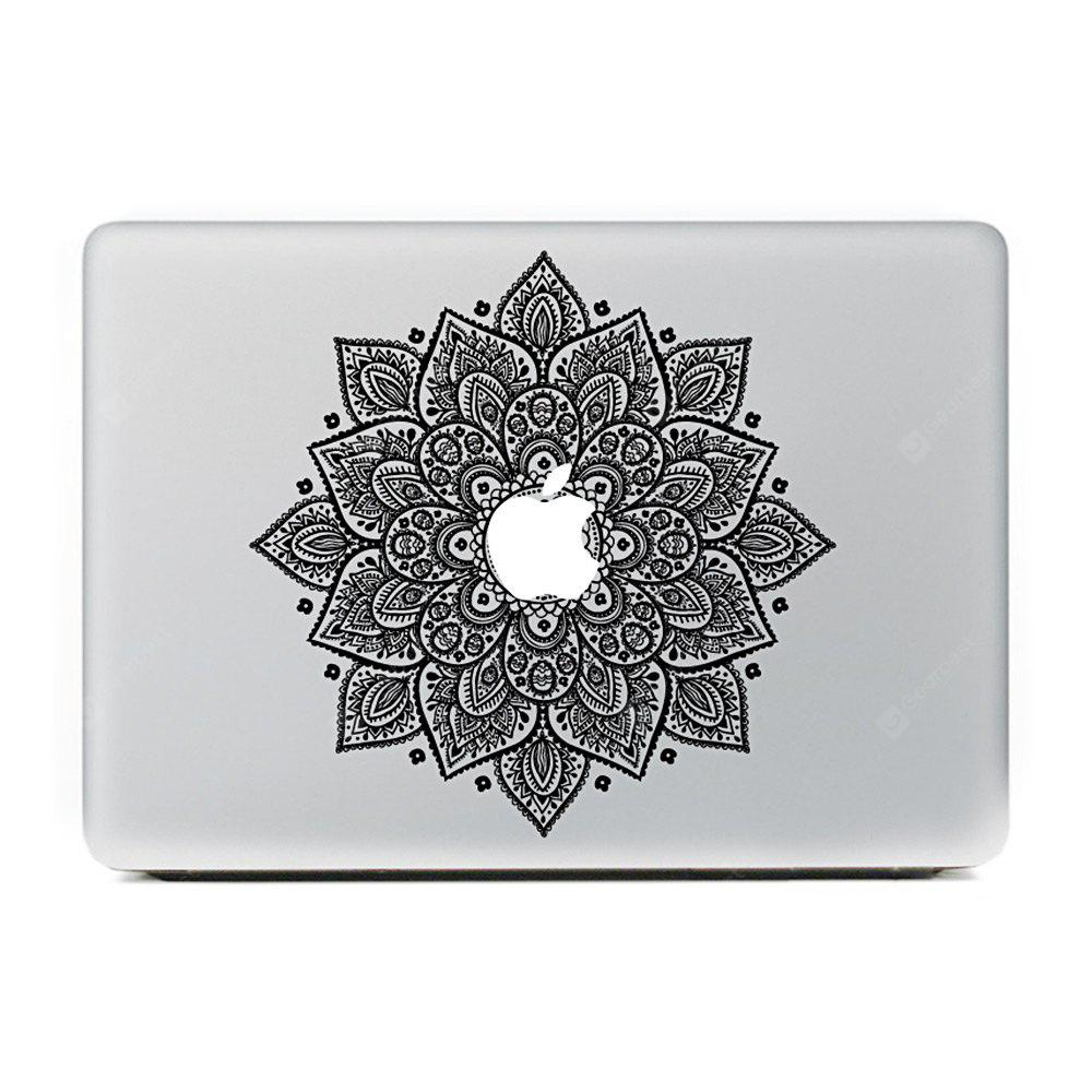 Flower Style Personality Color Sticker for MacBook 13.3 inch