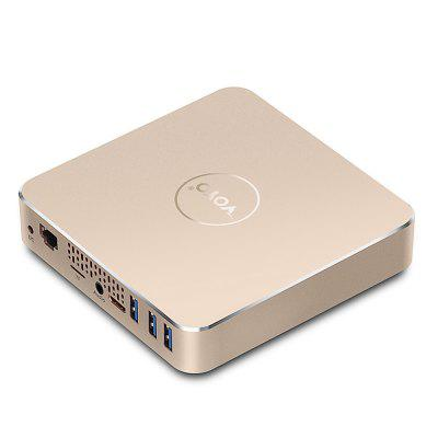VOYO VMac Mini PCMini PC<br>VOYO VMac Mini PC<br><br>5G WiFi: No<br>Audio format: OGA, WAV, RM, OGG, QCP, MP3, FLAC, HD, AAC, AC3, AFE, DTS<br>Bluetooth: Unsupport<br>Brand: Voyo<br>Core: Quad Core<br>CPU: Apollo Lake N4200<br>Decoder Format: H.265/AVC, Xvid/DivX3/4/5/6, HD MPEG1/2/4, AVS, H.263, H.264, H.264/AVC, RealVideo8/9/10, HD MPEG4, HD AVC/VC-1, RM/RMVB, H.265, HD MPEG1/2/4, Xvid/DivX4/5/6<br>GPU: Intel HD Graphic 5500<br>HDMI Version: 1.4<br>Interface: DC 5V, Mini HDMI Female, RJ45, TF card, USB3.0, 3.5mm Audio<br>Language: Multi-language<br>Model: VMac<br>Other Functions: 3D Video, 3D Games, ISO Files, PAL<br>Package Contents: 1 x VOYO VMac Mini PC, 1 x HDMI Cable, 1 x Power Adapter, 1 x English Manual<br>Package size (L x W x H): 15.00 x 15.00 x 3.80 cm / 5.91 x 5.91 x 1.5 inches<br>Package weight: 0.7220 kg<br>Power Consumption.: 12W<br>Power Supply: Charge Adapter<br>Power Type: External Power Adapter Mode<br>Product size (L x W x H): 12.00 x 12.00 x 2.80 cm / 4.72 x 4.72 x 1.1 inches<br>Product weight: 0.4000 kg<br>RAM: 8GB<br>RAM Type: DDR3L<br>Remote Controller Battery: 2 x AAA Battery ( not included )<br>RJ45 Port Speed: 1000M<br>ROM: 32G eMMC + 128G SSD<br>Support 5.1 Surround Sound Output: Yes<br>System: Windows 10.1<br>System Bit: 64Bit<br>Type: Mini PC<br>Video format: MPG, MVC, VP9, MP4, AVS, MKV, MJPEG, M4V, M2TS, DAT, 3D, AVI, AVC, ASF, 4K, MPEG2, 1080P<br>WiFi Chip: No