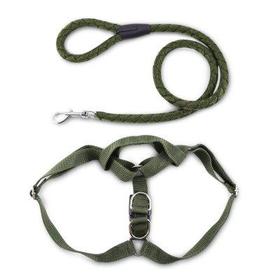 Pet Dog Halter Harness Traction Rope