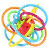 Baby Hand Shake Bell Ring Rattle Teether Intelligent Toy 11027