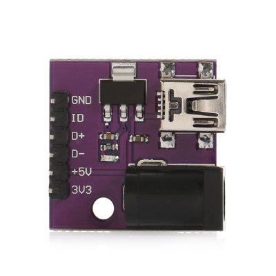 DC Power Socket Module with Mini USB Interface