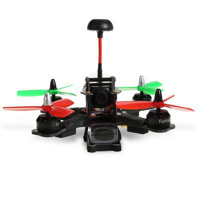 FuriBee F180 180mm FPV Racing Drone - RTFBrushless FPV Racer<br>FuriBee F180 180mm FPV Racing Drone - RTF<br><br>Battery (mAh): 1500mAh 11.1V 3S 30C<br>Battery Size: 7.3 x 3.2 x 2cm ( not including wires )<br>Brand: FuriBee<br>Channel: 6-Channels<br>KV: 2300<br>Max. Continuous Current (A): 20A<br>Model: MX2205<br>No. of Cells: 3 - 4S LiPo<br>Package Contents: 1 x Drone, 1 x Transmitter, 1 x 11.1V 1500mAh LiPo Battery, 4 x 4045 Two-blade Propeller, 1 x Balance Charger, 1 x Power Adapter, 1 x Pack of Accessories<br>Package size (L x W x H): 37.50 x 12.20 x 27.30 cm / 14.76 x 4.8 x 10.75 inches<br>Package weight: 1.423 kg<br>Product size (L x W x H): 17.00 x 17.50 x 7.00 cm / 6.69 x 6.89 x 2.76 inches<br>Product weight: 0.299 kg<br>Remote Control: 2.4GHz Wireless Radio Control<br>Transmitter Power: 4 x 1.5V AA (not included)<br>Type: Frame Kit<br>Video Resolution: 700TVL<br>Video Standards: PAL