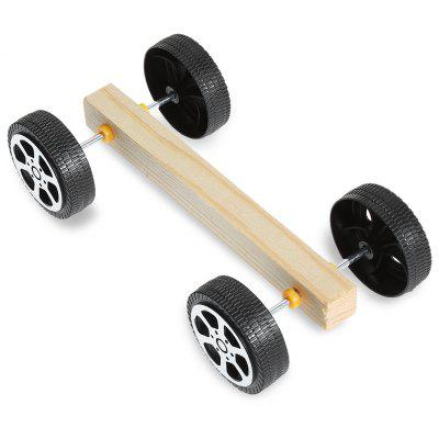 PXWG Wooden Vehicle Style Elektrisch angetriebene 3D Puzzle