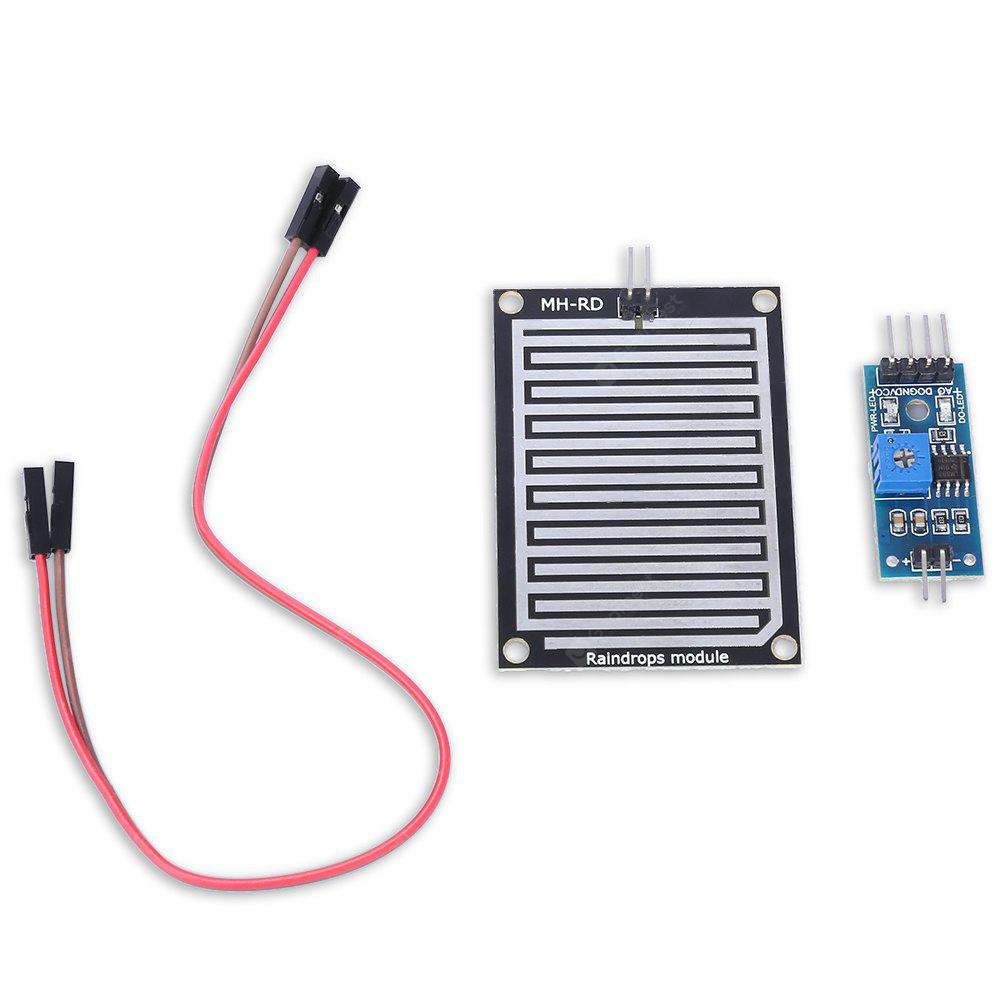 DC 5V Large Area Rain / Raindrop Sensor Module DIY Parts