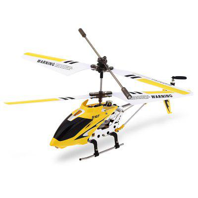Syma S107G 3CH Infrared Remote Control Helicopter Alloy Copter with Built - in Gyro