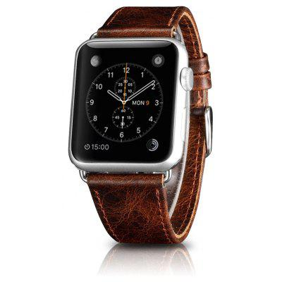 OATSBASF Crazy Horse Watchband for Apple Watch 42mm