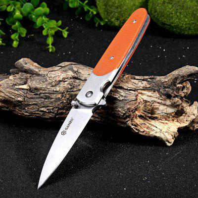 Ganzo G743-1-OR Frame Lock Folding Knife