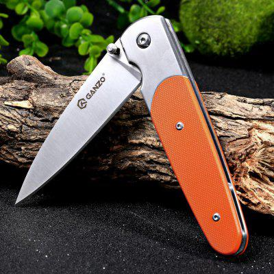 Ganzo G743-1-OR Frame Lock Folding KnifePocket Knives and Folding Knives<br>Ganzo G743-1-OR Frame Lock Folding Knife<br><br>Blade Edge Type: Fine<br>Blade Length: 8.8 cm<br>Blade Length Range: 5cm-10cm<br>Blade Width : 2.3 cm<br>Brand: GANZO<br>Clip Length: 6.0 cm<br>Color: Black,Orange<br>For: Travel, Mountaineering, Home use, Hiking, Camping, Adventure<br>Lock Type: Frame Lock<br>Model Number: G743-1-OR<br>Package Contents: 1 x G743-1-OR Folding Knife, 1 x Storage Bag<br>Package size (L x W x H): 13.50 x 5.00 x 3.00 cm / 5.31 x 1.97 x 1.18 inches<br>Package weight: 0.170 kg<br>Product size (L x W x H): 11.50 x 3.00 x 1.80 cm / 4.53 x 1.18 x 0.71 inches<br>Product weight: 0.118 kg<br>Unfold Length: 20.2 cm<br>Weight Range: 101g-200g