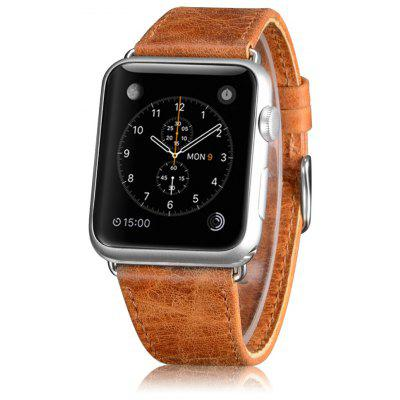 OATSBASF Genuine Leather Watchband Kit for Apple Watch 38mm