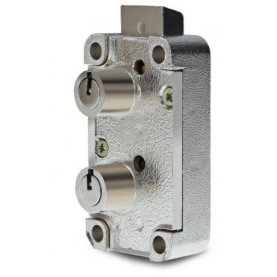 Dual Nose Safe Deposit Lock