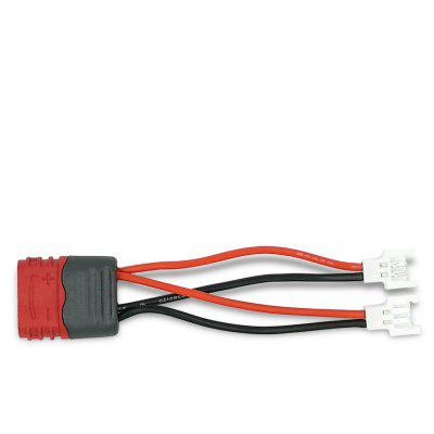Amass 1-for-2 T Female to 51005 Male Power Adapter