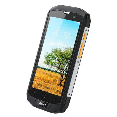 AGM A8 4G SmartphoneCell phones<br>AGM A8 4G Smartphone<br><br>2G: GSM 850/900/1800/1900MHz<br>3G: WCDMA 850/900/1900/2100MHz<br>4G: FDD-LTE 800/1800/2100/2600MHz<br>Additional Features: Calculator, Browser, Bluetooth, Alarm, 4G, 3G, Calendar, Wi-Fi, Camera, Waterproof, Sound Recorder, People, MP4, MP3, GPS<br>Auto Focus: Yes<br>Back-camera: 13.0MP<br>Battery Capacity (mAh): 4050mAh Built-in<br>Bluetooth Version: V4.0<br>Brand: AGM<br>Camera type: Dual cameras (one front one back)<br>Cell Phone: 1<br>Cores: Quad Core, 1.2GHz<br>CPU: MSM8916<br>Dustproof: Yes<br>E-book format: TXT<br>English Manual: 1<br>External Memory: TF card up to 32GB (not included)<br>Front camera: 2.0MP<br>I/O Interface: 2 x Nano SIM Slot, Micophone, Micro USB Slot, 3.5mm Audio Out Port, TF/Micro SD Card Slot, Speaker<br>IP rating: IP68<br>Language: Czech, Danish, German, Greek, English ( US ), English ( UK ), Spanish, Finnish, French, Croatian, Italian, Hebrew, Lithuania, Latvian, Norwegian, Dutch, Polish, Portuguese ( Brazil ), Portuguese ( Por<br>Music format: WAV, MP3, AMR, AAC<br>Network type: GSM+WCDMA+FDD-LTE<br>OS: Android 7.0<br>Package size: 18.20 x 10.60 x 6.80 cm / 7.17 x 4.17 x 2.68 inches<br>Package weight: 0.5160 kg<br>Picture format: BMP, GIF, JPEG, PNG<br>Power Adapter: 1<br>Product size: 15.90 x 8.30 x 1.60 cm / 6.26 x 3.27 x 0.63 inches<br>Product weight: 0.2470 kg<br>RAM: 4GB RAM<br>ROM: 64GB<br>Screen resolution: 1280 x 720 (HD 720)<br>Screen size: 5.0 inch<br>Screen type: Corning Gorilla Glass<br>Screwdriver: 1<br>Sensor: Ambient Light Sensor,Geomagnetic Sensor,Gravity Sensor,Proximity Sensor<br>Service Provider: Unlocked<br>SIM Card Slot: Dual SIM, Dual Standby<br>SIM Card Type: Dual Nano SIM<br>Sound Recorder: Yes<br>Touch Focus: Yes<br>Type: 4G Smartphone<br>USB Cable: 1<br>Video format: AVI, 3GP, MP4<br>Waterproof: Yes<br>Wireless Connectivity: WiFi, LTE, 3G, 4G, A-GPS, Bluetooth 4.0, GPS, GSM