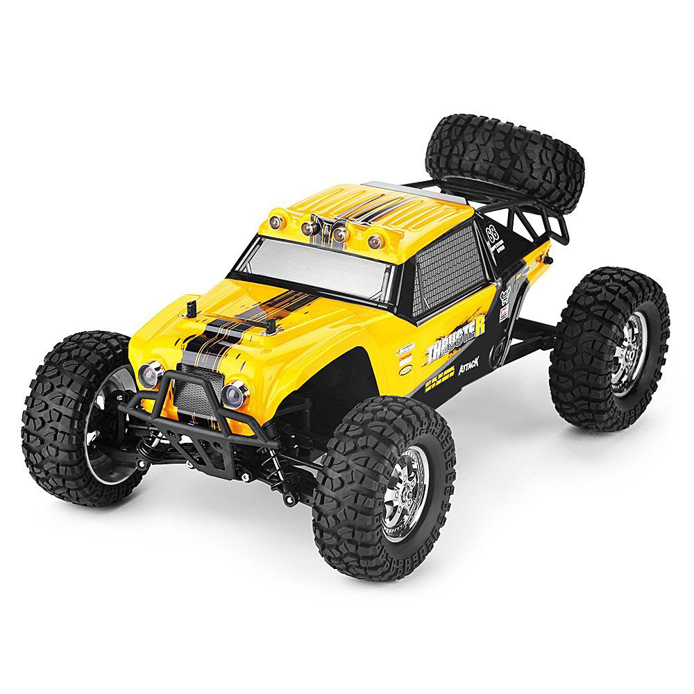 HBX 12889 Thruster 1:12 RC Off-road Truck - RTR - YELLOW