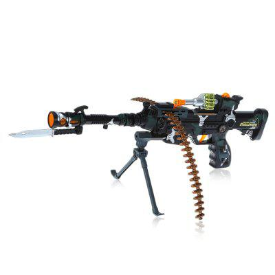 9218B+ Infrared Shooting Assault Rifle Model