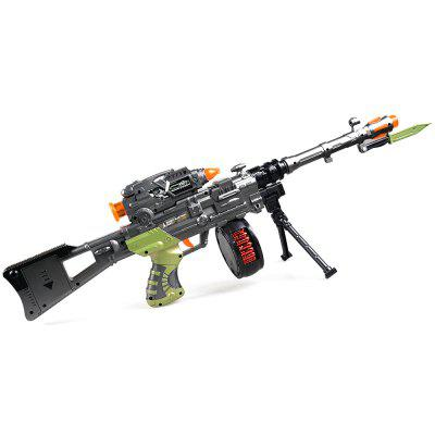 12218B+ Infrared Shooting Octave Music Machine Gun