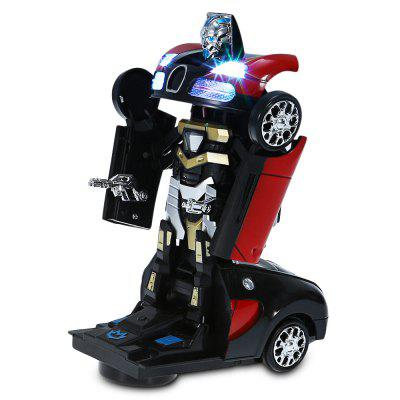 Movable 2-in-1 Auto Transformation Car Robot
