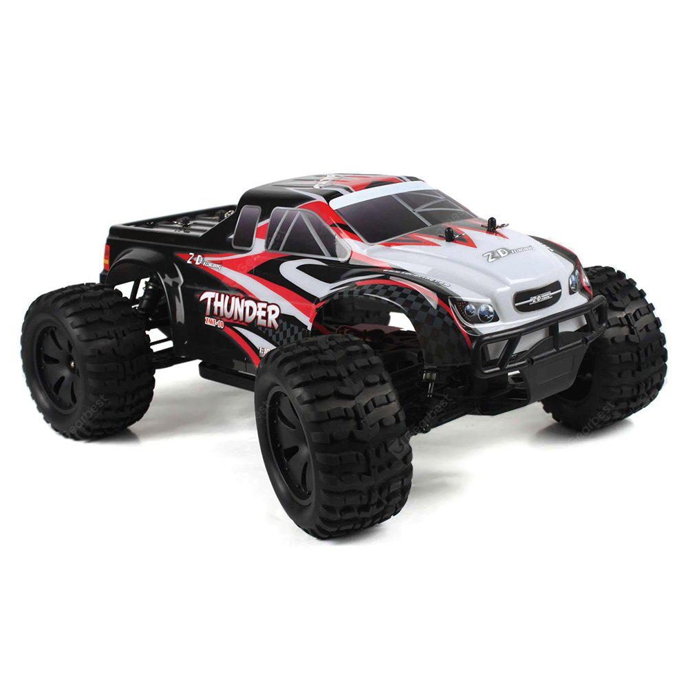 ZD Racing 10427 - S 1: 10 veliki kamion s nogom RC - RTR - BLACK AND RED BRUSHLESS VERSION