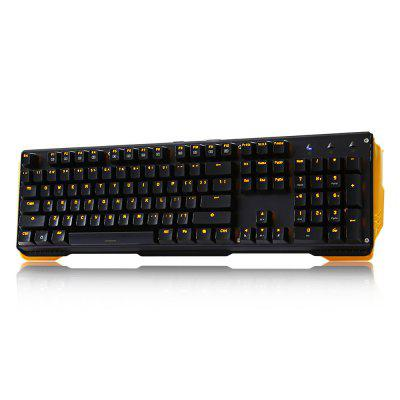 JamesDonkey 619 Mechanical Keyboard 104 Keys for Gaming