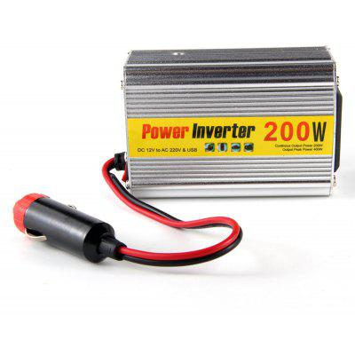 200W 12V DC to 220V AC Car Power Adapter