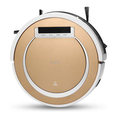ILIFE X5 Smart Robotic Vacuum CleanerRobot Vacuum<br>ILIFE X5 Smart Robotic Vacuum Cleaner<br><br>Accessories Types: Dustbin,HEPA,Invisible Wall,Remote Controller,Side Brush,Water Tank<br>Battery Brand: Lithium-ion battery<br>Battery Capacity: 2600mAh<br>Brand: ILIFE<br>Charging Time: Less than 5hrs<br>Cleaner Types: Vacuum Cleaner<br>Cleaning Area (sq.m.): About 180 square centimeters<br>Cleaning Modes: Auto cleaning modes / border cleaning modes / concentration cleaning modes / schedule cleaning modes<br>Climb Capability: 10 degree / 10mm and less<br>Dust Box Capacity: 300ml<br>Feature: LCD, Auto<br>Floor Types: Wood Floor<br>Frequency (Hz): 50Hz<br>Function: Sweep, Mopping, Wet and Dry<br>Input Voltage (V)  : AC 100-240V<br>Noise (dB): Less than 40dB<br>Package Contents: 1 x Vacuum Cleaner, 1 x HEPA, 1 x Charging Base, 1 x Remote Controller, 1 x Water Tank, 1 x Dust Container Box , 1 x Adapter, 1 x Invisible Wall, 1 x Cleaning Brush, 2 x Side Brush, 1 x Rag, 2 x AA Ba<br>Package size (L x W x H): 45.00 x 40.00 x 15.00 cm / 17.72 x 15.75 x 5.91 inches<br>Package weight: 4.5700 kg<br>Power (W): 19W<br>Product size (L x W x H): 30.00 x 30.00 x 7.70 cm / 11.81 x 11.81 x 3.03 inches<br>Product weight: 2.0000 kg<br>Remote Control: Yes<br>Self Recharging: Yes<br>Suction (pa): 550 - 850Pa<br>Water Tank Capacity: 300ml<br>Working Time: 90min