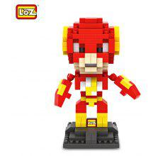 LOZ 240Pcs L - 9453 The Flash Action Figure Building Block Educational Toy for Brain Thinking