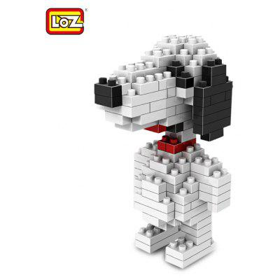 LOZ 130 Pcs M - 9330 PEANUTS Snoopy Building Block Educational Toy for Spatial Thinking