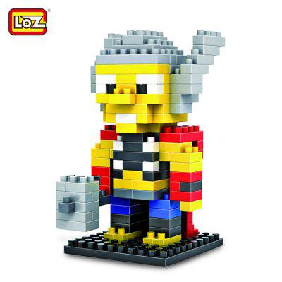 LOZ 150Pcs M - 9157 Thor Building Block Educational Assembling Boy Girl Gift for Spatial Thinking