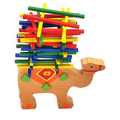 Wooden Camel Balance Building Block