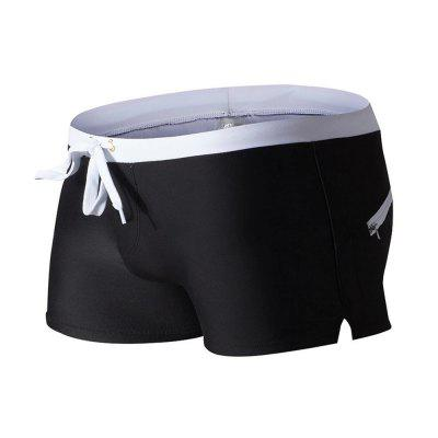 AUSTINBEM Men Zipper Nylon Swimming BoxersMens Swimwear<br>AUSTINBEM Men Zipper Nylon Swimming Boxers<br><br>Brand: AUSTINBEM<br>Material: Nylon<br>Package Contents: 1 x AUSTINBEM Swimming Boxers<br>Package size: 25.00 x 15.00 x 2.00 cm / 9.84 x 5.91 x 0.79 inches<br>Package weight: 0.1400 kg<br>Product weight: 0.1200 kg<br>Size: L,M,XL<br>Type: SwimmingTrunks<br>Waist: Low Waisted