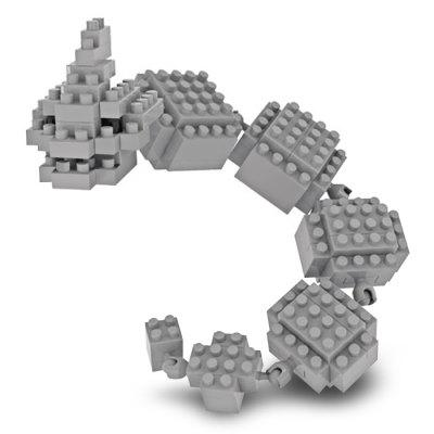 LOZ Figure Style Cartoon ABS Building Brick - 135pcs