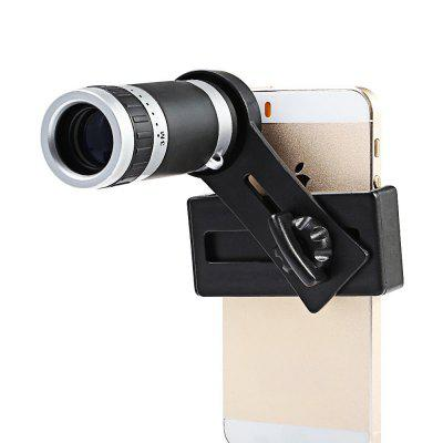 Portable Zoom Lens Monocular for Mobile Phone