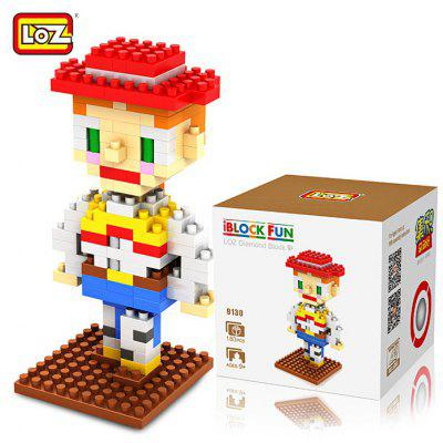 LOZ 180Pcs M - 9130 Toy Story Jessie Building Block Educational Toy for Brain Thinking