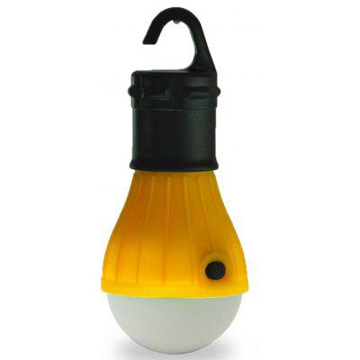 Outdoor 3-Modes 500-Lumens LED Hook Lamp (Yellow)