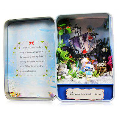 DIY Miniature Box Room Idea Art Handicraft