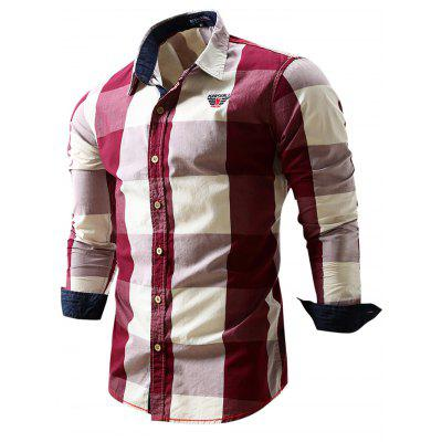 FREDD MARSHALL FM099 Male Casual Long Sleeve ShirtMens Shirts<br>FREDD MARSHALL FM099 Male Casual Long Sleeve Shirt<br><br>Brand: FREDD MARSHALL<br>Material: Cotton<br>Package Contents: 1 x FREDD MARSHALL FM099 Male Shirt<br>Package size: 28.00 x 32.00 x 2.00 cm / 11.02 x 12.6 x 0.79 inches<br>Package weight: 0.2830 kg<br>Product weight: 0.2600 kg